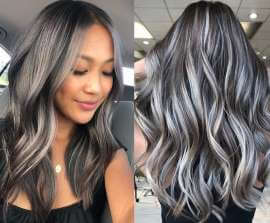 Tipos de luces para disimular las canas en el cabello