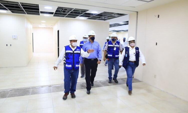 Supervisa Gobernador construcción de nuevo Hospital General de Matamoros