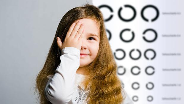 Síntomas que indican que tu hijo puede estar sufriendo problemas de visión